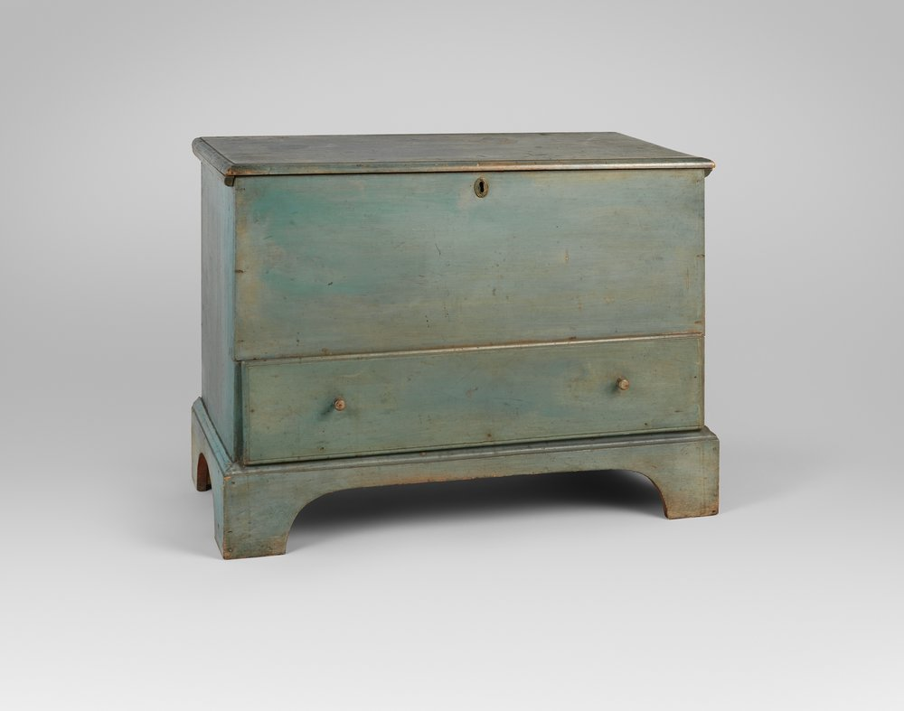 Blanket chest, 1830-75. Metropolitan Museum of Art, Friends of the American Wing Fund, 1966.