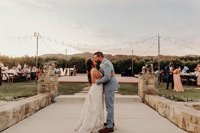 Rachelle & Channing ♥️ It's a perfect day when the sky is painted to match your wedding colors! 🙏🏽✨ We are so thankful for couples that invite us into their community to document and celebrate their love! Thank you Channing & Rachelle for choosing our  little team of four to help make your wedding day dreams come true!  So much magic and beauty in one photo, we wish you all the best and cannot wait to share a clip from your special day!💫