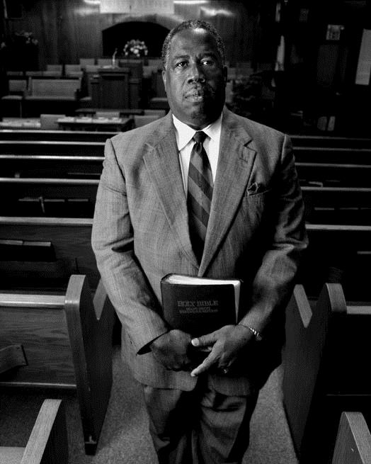 Pastor Lyons  - Pastor Lyons was James Byrd Jr.'s minister and an active community leader. (Photo by Sarah Wilson)