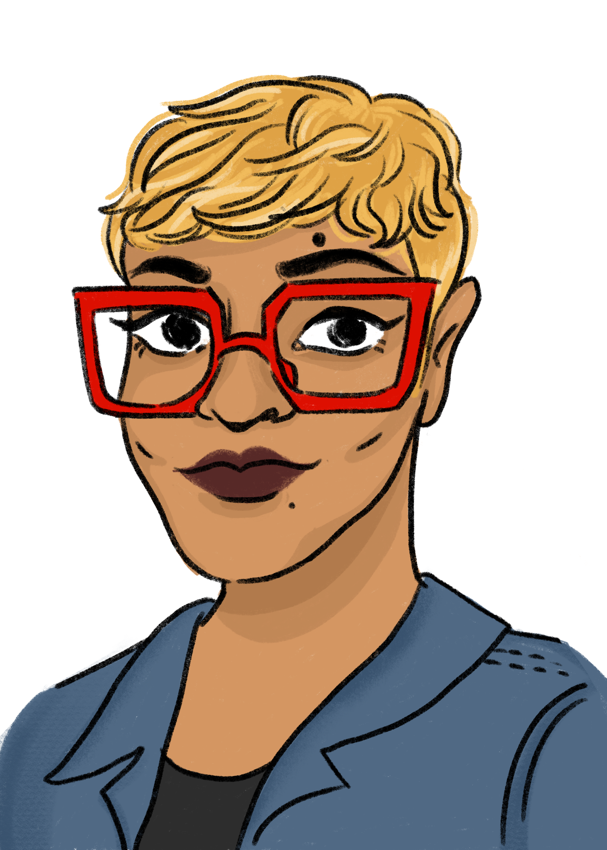 Eve Ewing. Illustration by Clare Austen Smith.