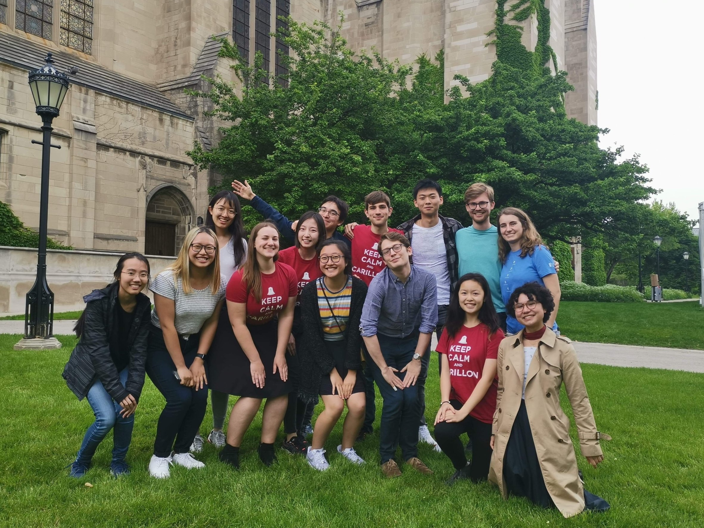 UChicago Carillon Students. Photo credit: Joey Brink