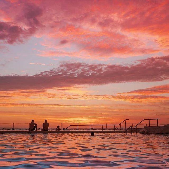 Tag your travel mate who loves to be sitting here watching this beautiful sunrise 🙌 📍 Bondi Icebergs, Bondi Beach, Sydney, Australia. Photo from @davidwesson Tag us @grindmystyle to be featured! . . . . . . #australia #visitaustralia #sydney #visitsydney #australian #aussie #australiagram #travel #travelaustralia #traveller #vacation #beach #bondi #bondibeach #fun #sunrise #sunset #sunrise #bondiicebergs #australia_shotz #photography #travelblogger #travelphotography #australialife #australianlife #explorer #wanderlust #happiness #natureporn #grindmystyle