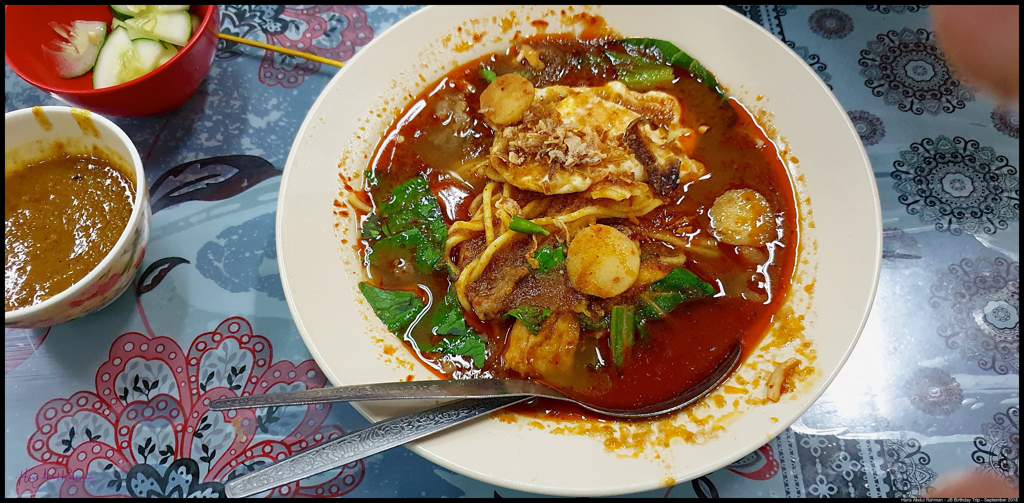 Also had the delicious mee bandung