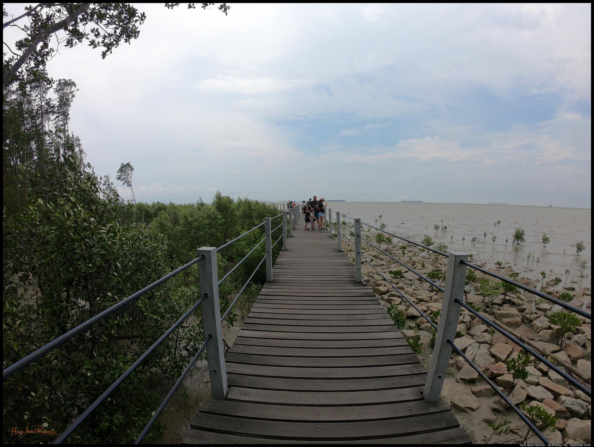 Long walk …