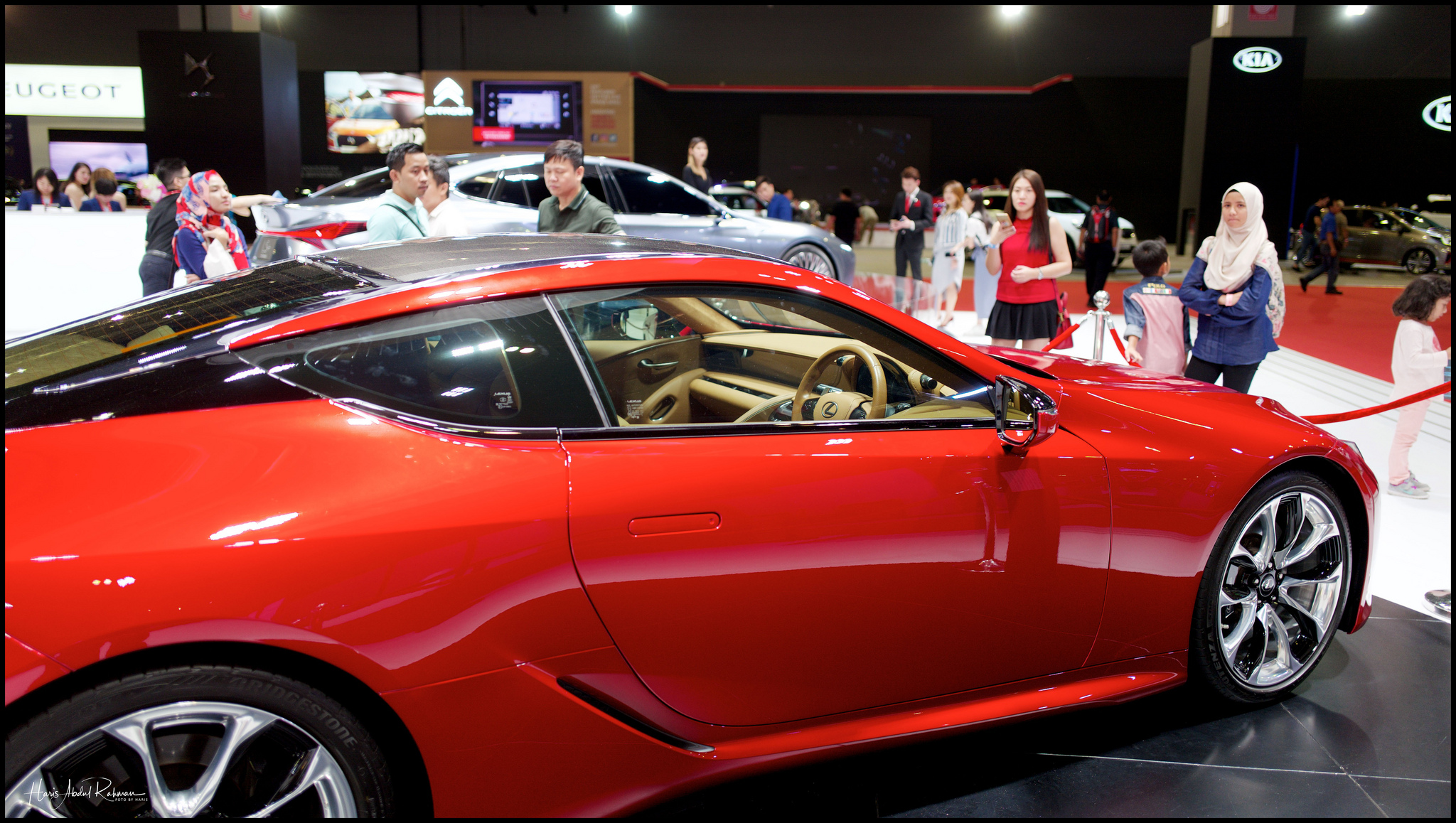 This Lexus cost well over a million ringgit …