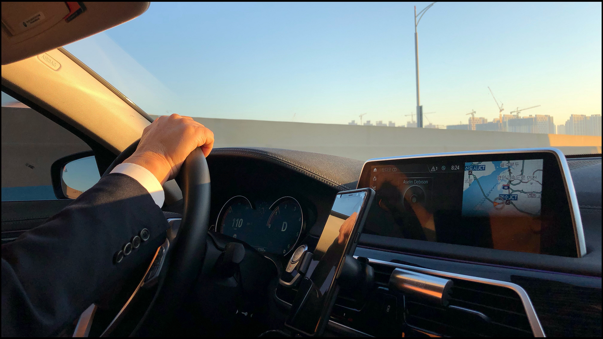 A nice drive …