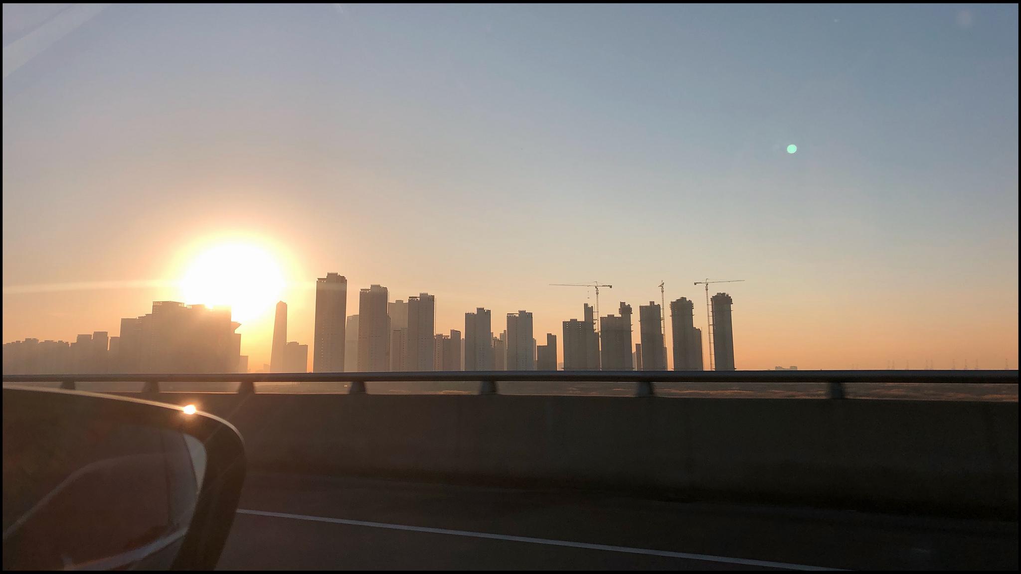 Approaching Seoul