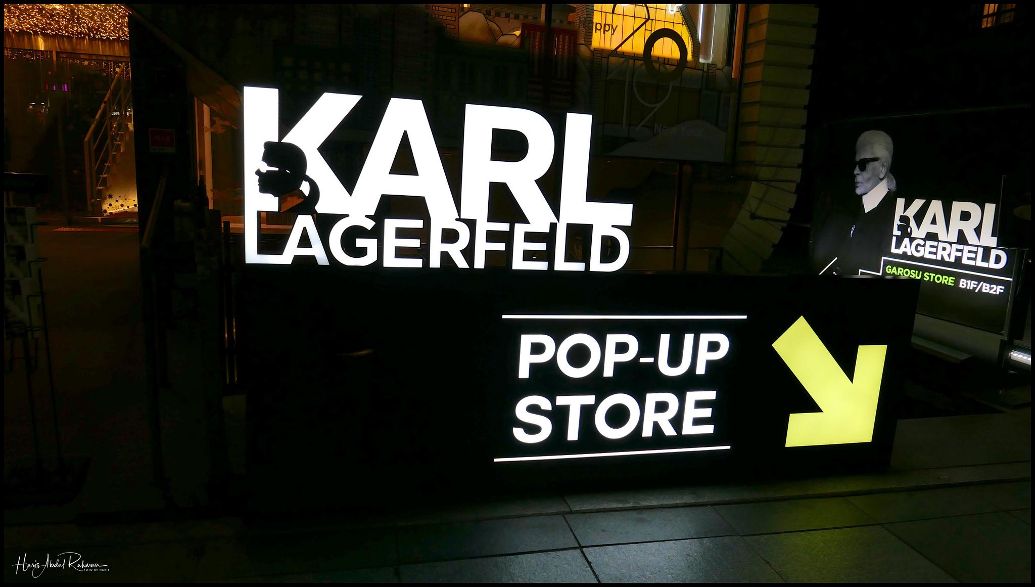 No, Karl wasn't in …