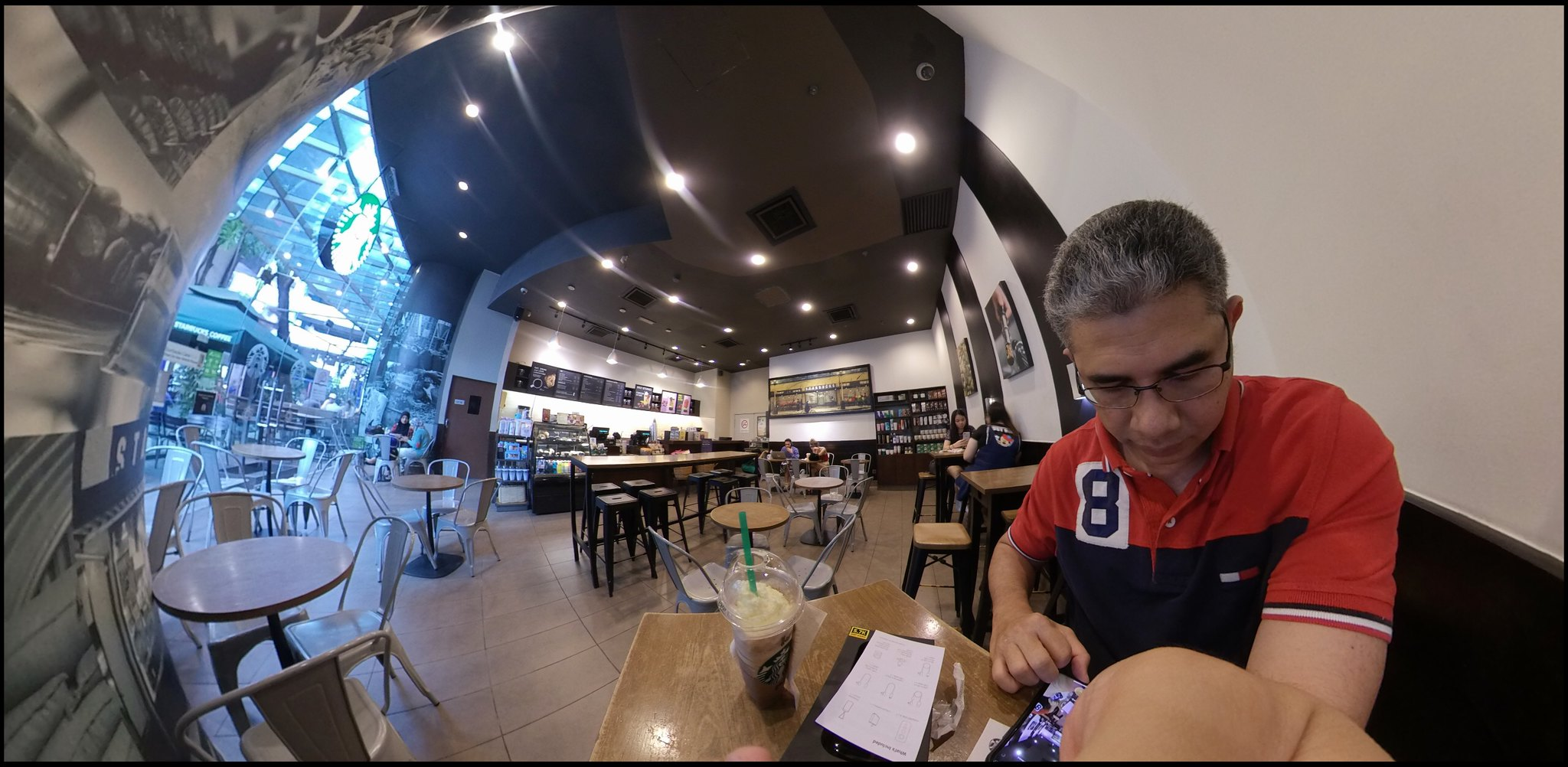 Trying out the new insta360