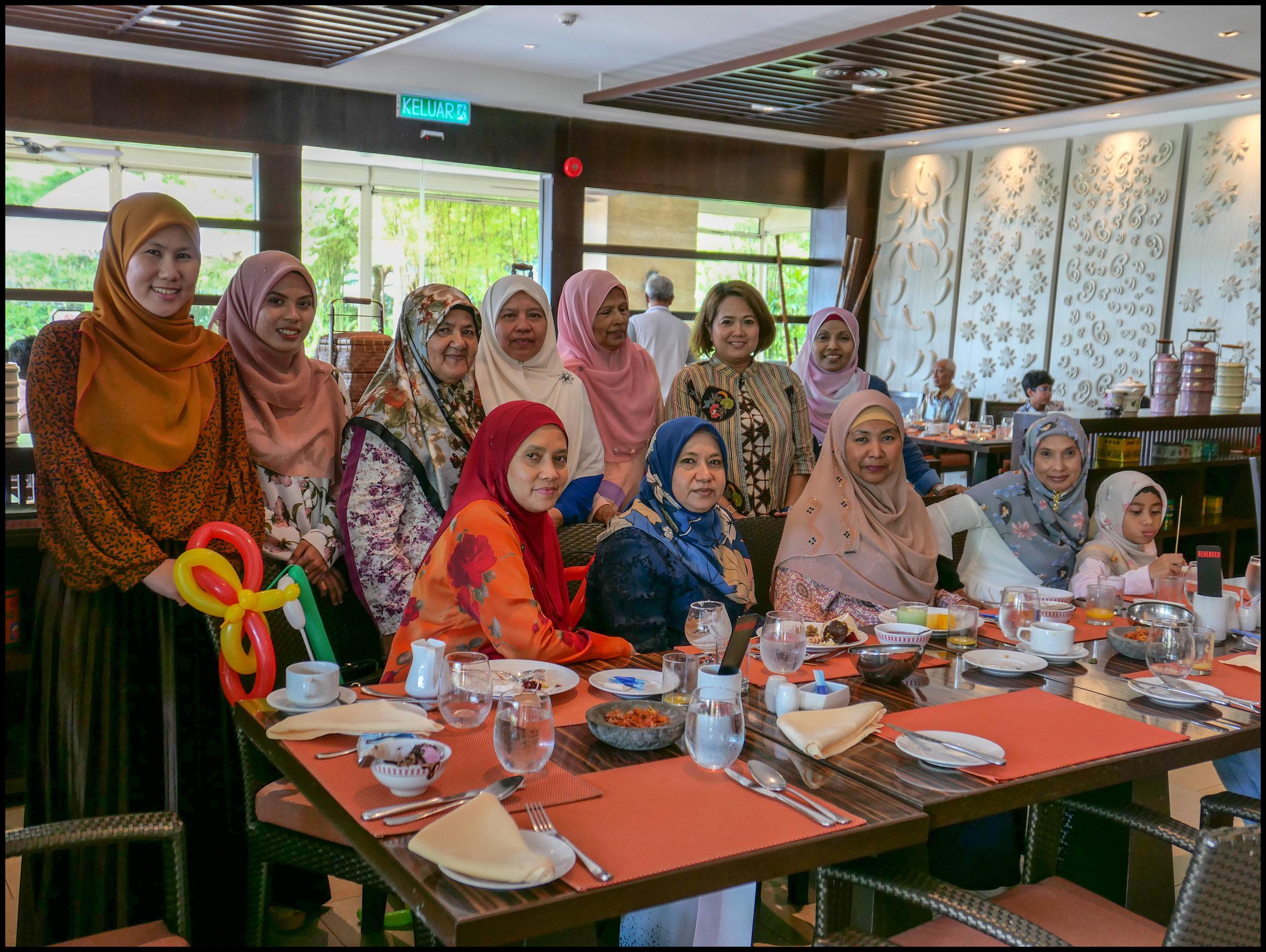 The ladies brigade