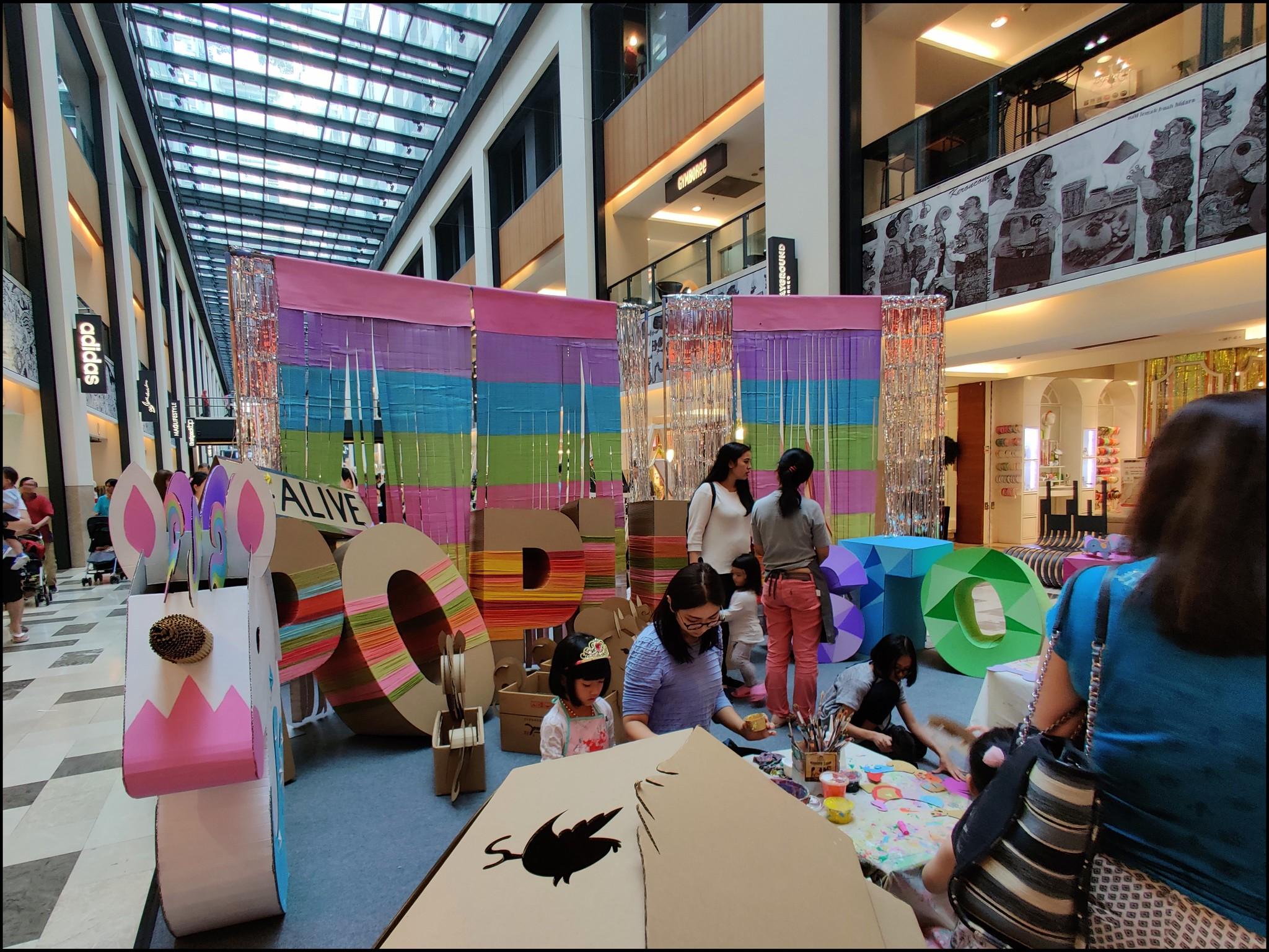 Even an area for children's activities