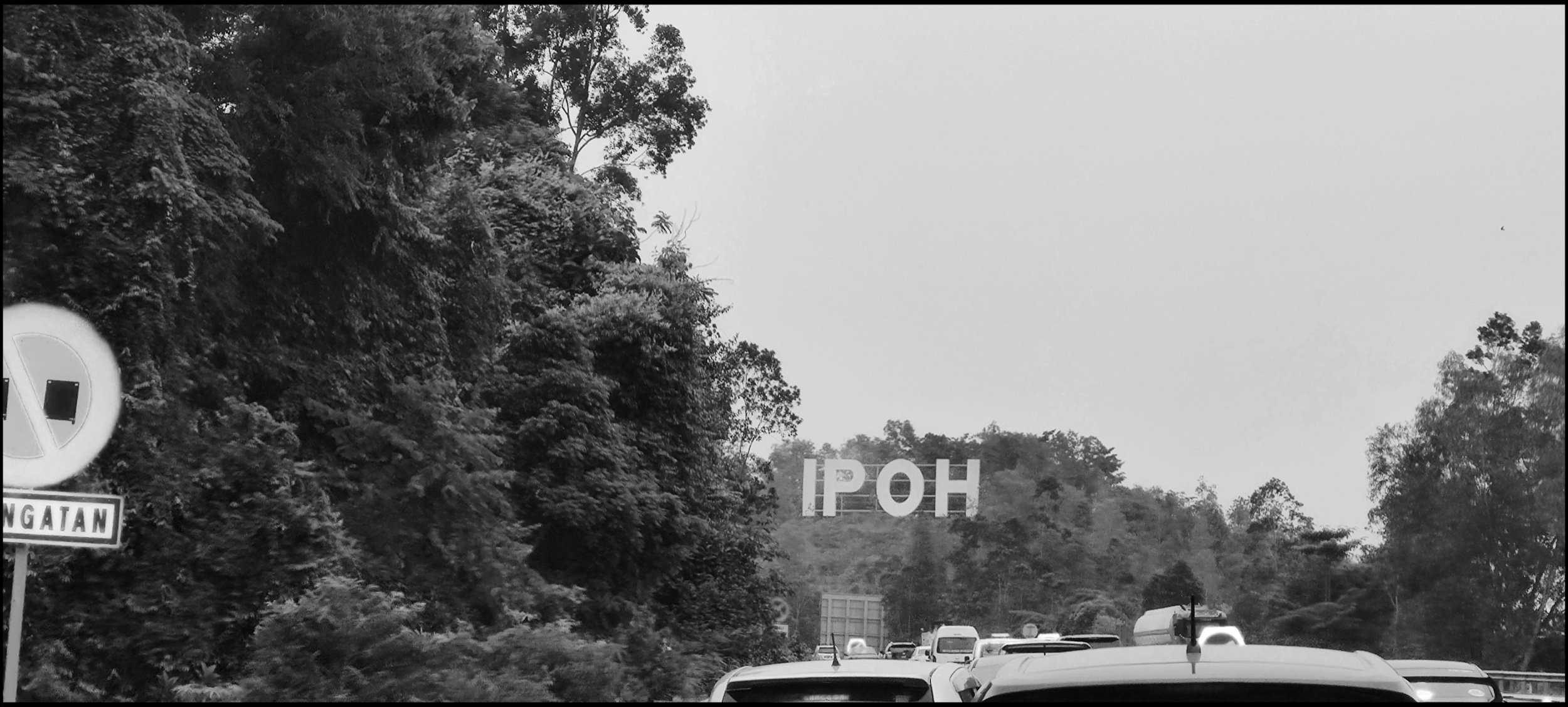Reaching Ipoh. In a jam!