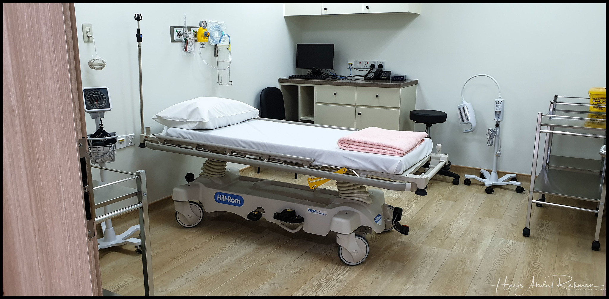 One of the treatment rooms