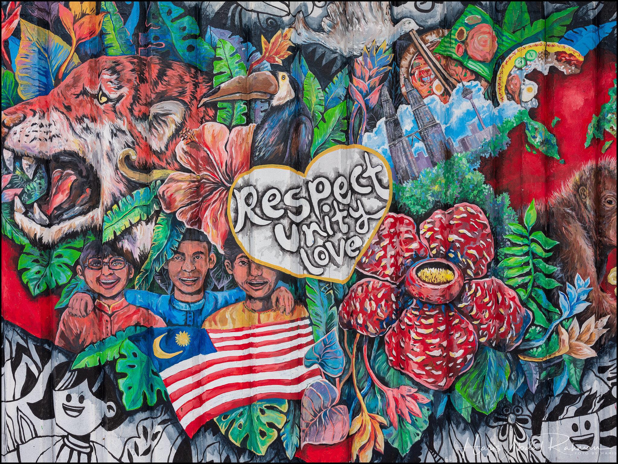 Respect. Unity. Love.