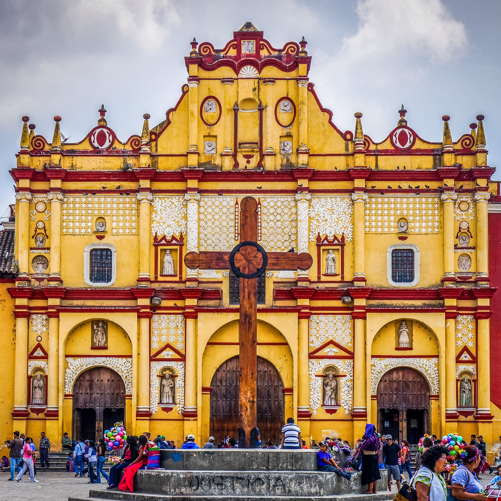 Catedral de San Cristóbal - San Cristobal de las Casas