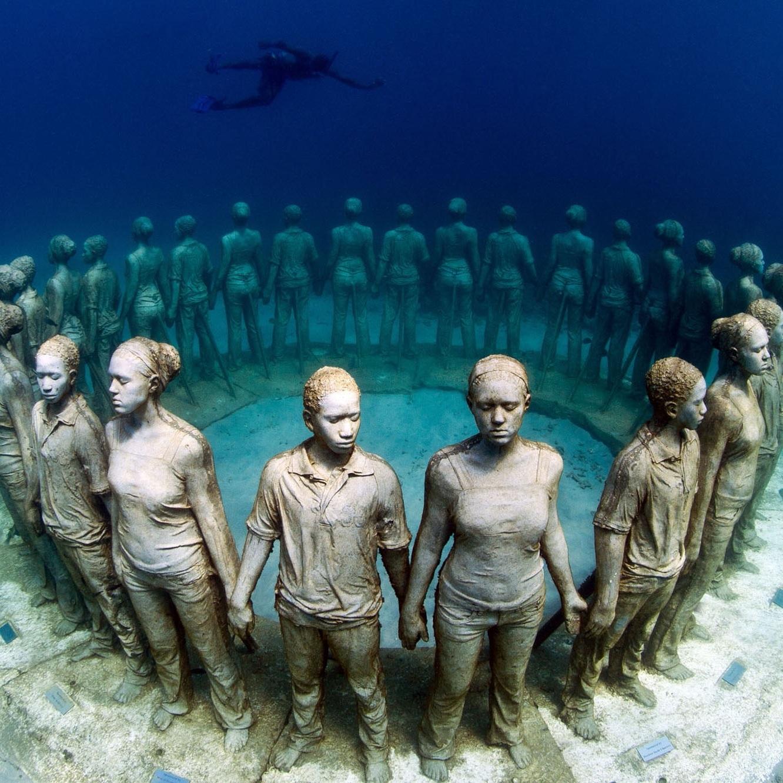 Museo Subacuático - Cancún