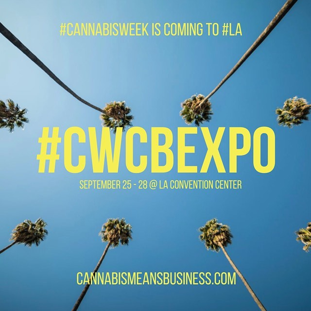 "@CWCBExpo is taking place 9/25 - 9/28 at the #LA Convention Center!  REGISTER HERE: https://www.cwcbexpo.com/attend-registration-los-angeles/#. Use PROMO CODE ""GAS19"" for free admission to exhibits and keynotes.  Visit us at booth 434 and experience #CannabisWeek with the #CWCBExpo later this month in Los Angeles!  #greentendersaccounting @ConventionLA #CannabisMeansBusiness"