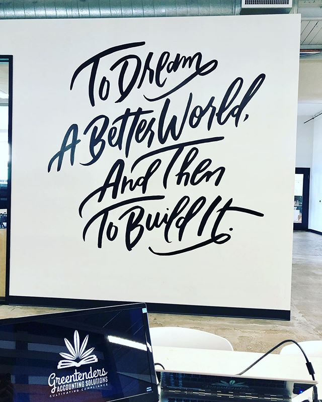 Some motivation to get through the end of a crazy month end week!  #dreamabetterworld #buildinganempire #dreambigger #entrepreneurlife #businesstobusiness #communityovercompetition