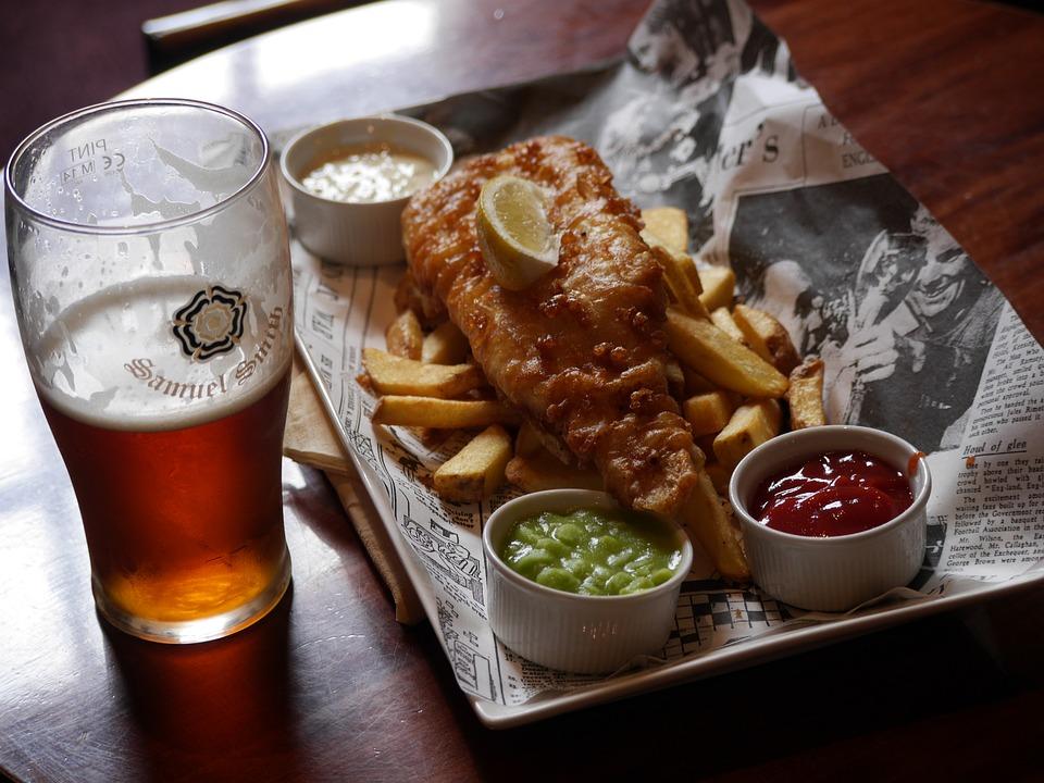 Yo los declaro Best Bitter y Fish and Chips; un excelente maridaje británico.
