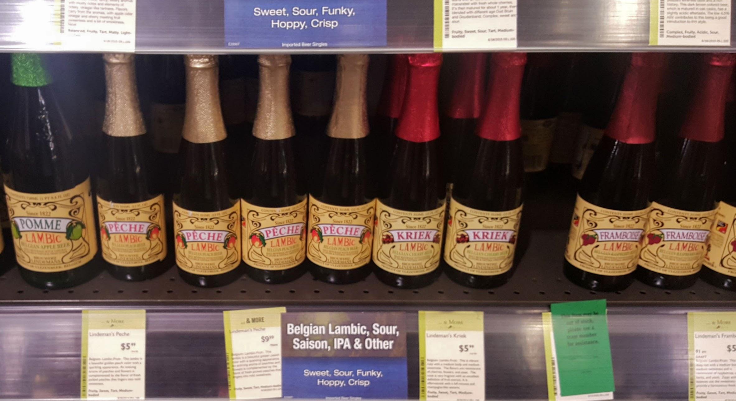Figura 3 - ¿Alguna vez han visto cervezas recostadas a la venta? Esto se debe a que es más recomendable almacenarlas de manera vertical, sobre todo las cervezas que están a punto de consumirse.