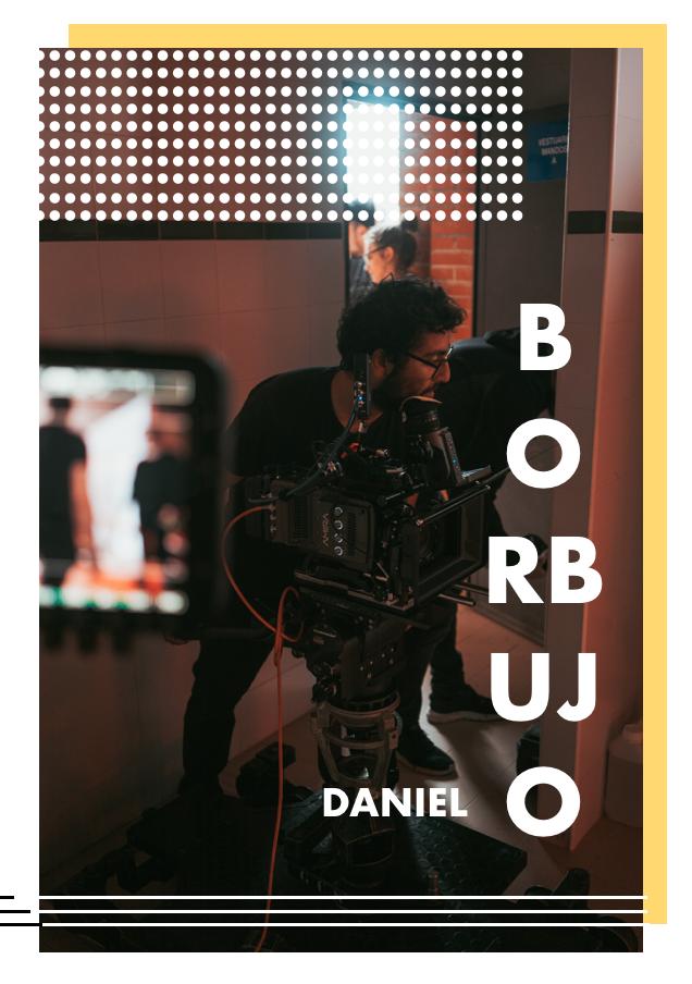 Con un gusto y especial sensibilidad por la fotografía natural y por las historias que reflejan verdad, desde bien joven Daniel se dedica a la dirección de fotografía tanto en ficción como en publicidad. Estudió en la ECAM y en la TAI, pero sobre todo en los proyectos que han ido surgiendo junto a diversas directoras y directores.