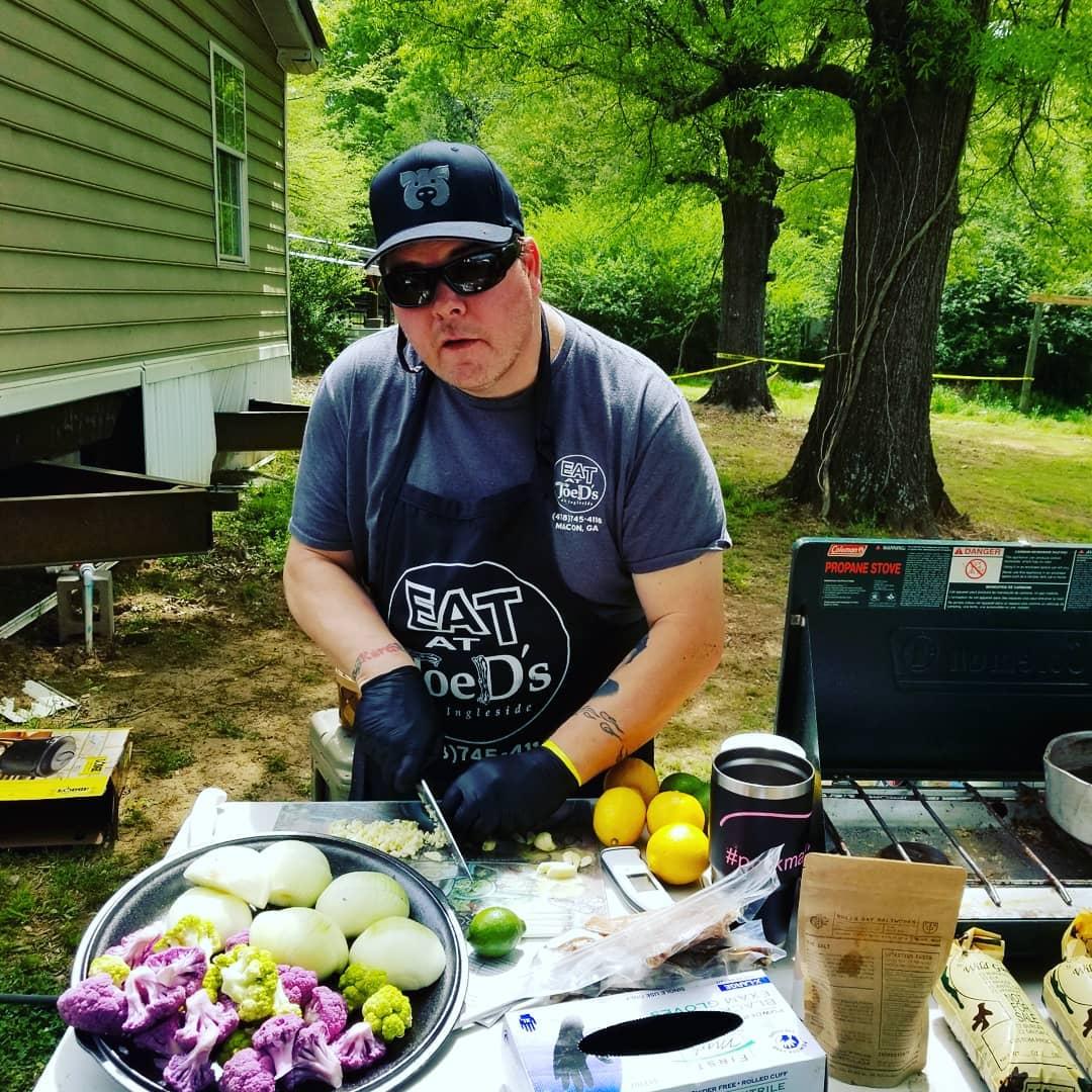 Jody Mullendore  Chef & Pit Master Owner  Joe D's   Macon, GA