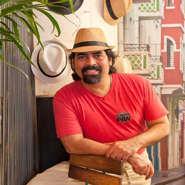 Hector Santiago  Chef Owner  El Super Pan  Atlanta, GA