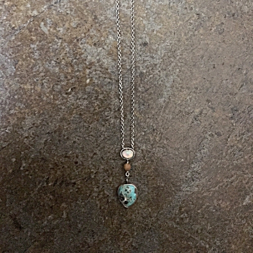 TURQUOISE AND OPAL