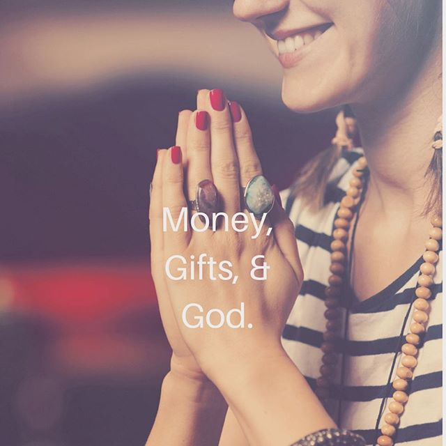 On money, gifts, & God. How do we focus on making money while still holding true to our soul's purpose?! It isn't easy and the first step is making peace with money. Our money series is here to guide you.  Link in bio. #integrativehealth #gratitude #webdesign #midwife #doula