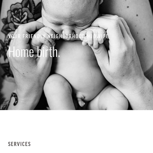 This new site just launched and y'all I'm so over the moon in love with it. Check out our portfolio for a link to see this gorgeous site featuring photos from @austinbirthphotos for @midwiferyofaustin #bosslady #webdesign #birthphotography #integrativemedicine #doula #marketinghelp #marketing