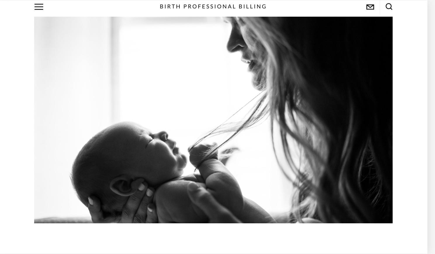 Birth Professional Billing