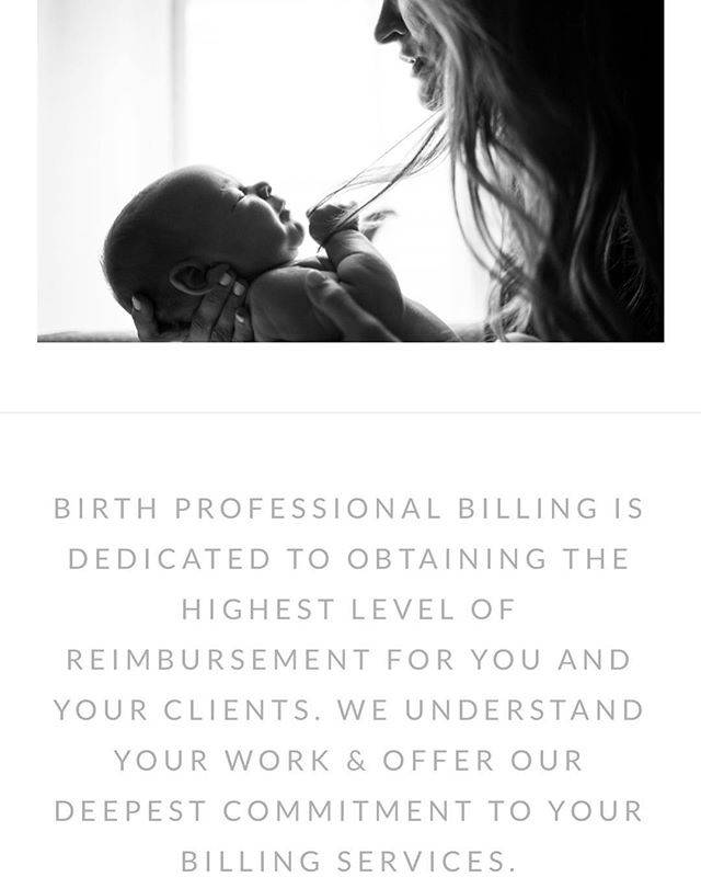 New site! 🙌🏽Y'all THIS site is AMAZING.🙌🏽 Multiple integrated features and pathways created for ease of use for both the company, clients, & potential customers really showcases the reasons you should hire a pro to help your business grow. Birth Professional Billing specializes in out of hospital midwifery billing and is a real gift to the community. Link to site in bio- portfolio 🙌🏽 #Midwifery #birth #doula #marketing #webdesign #consulting #austinwoman #atx