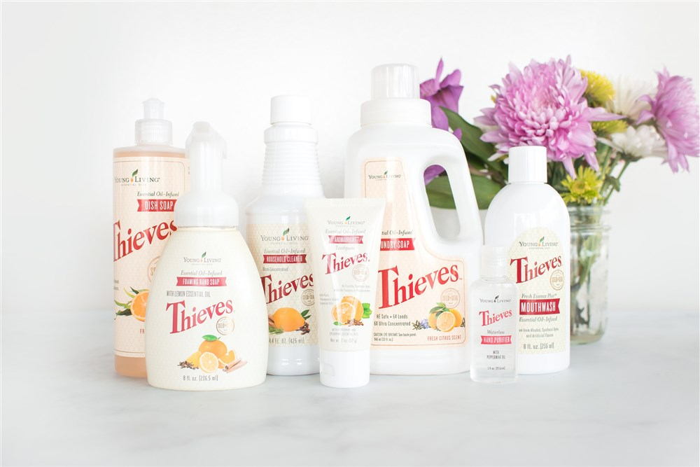 Thieves Non Toxic Living Cleaning