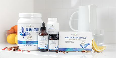 Young Living Balance Complete Shakes Master Formula Foundation Nutrition