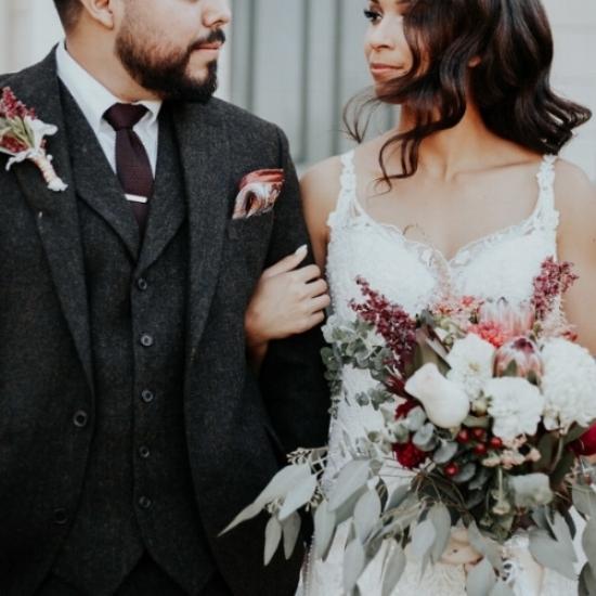 Junebug Weddings  //  Photo:    Photography by Ben & Kadin