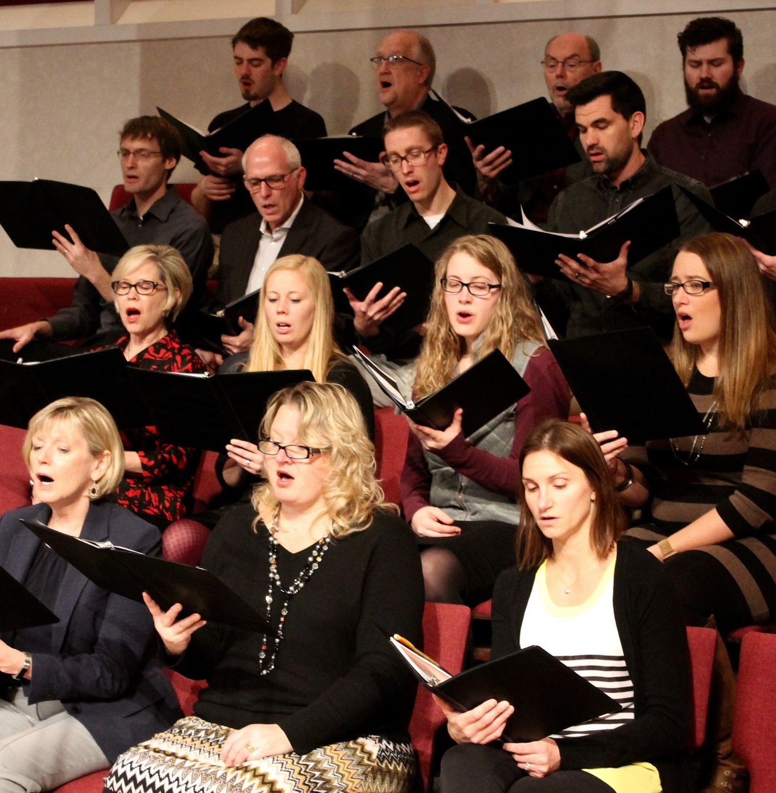 Calvary Choir - The choir rehearses every other Wednesday night during the school year and sings during 1-2 Sunday worship services a month. Childcare is provided during rehearsal. Tim Ribbens has been the choir director since 2002. He enjoys singing but more so enjoys choosing music that will be worshipful. Tim motivates the choir to sing more than just words, to sing the depth and spirit of the words and music in order to maximize the worship of the music.Contact Tim at Tim.Ribbens@bakertilly.com