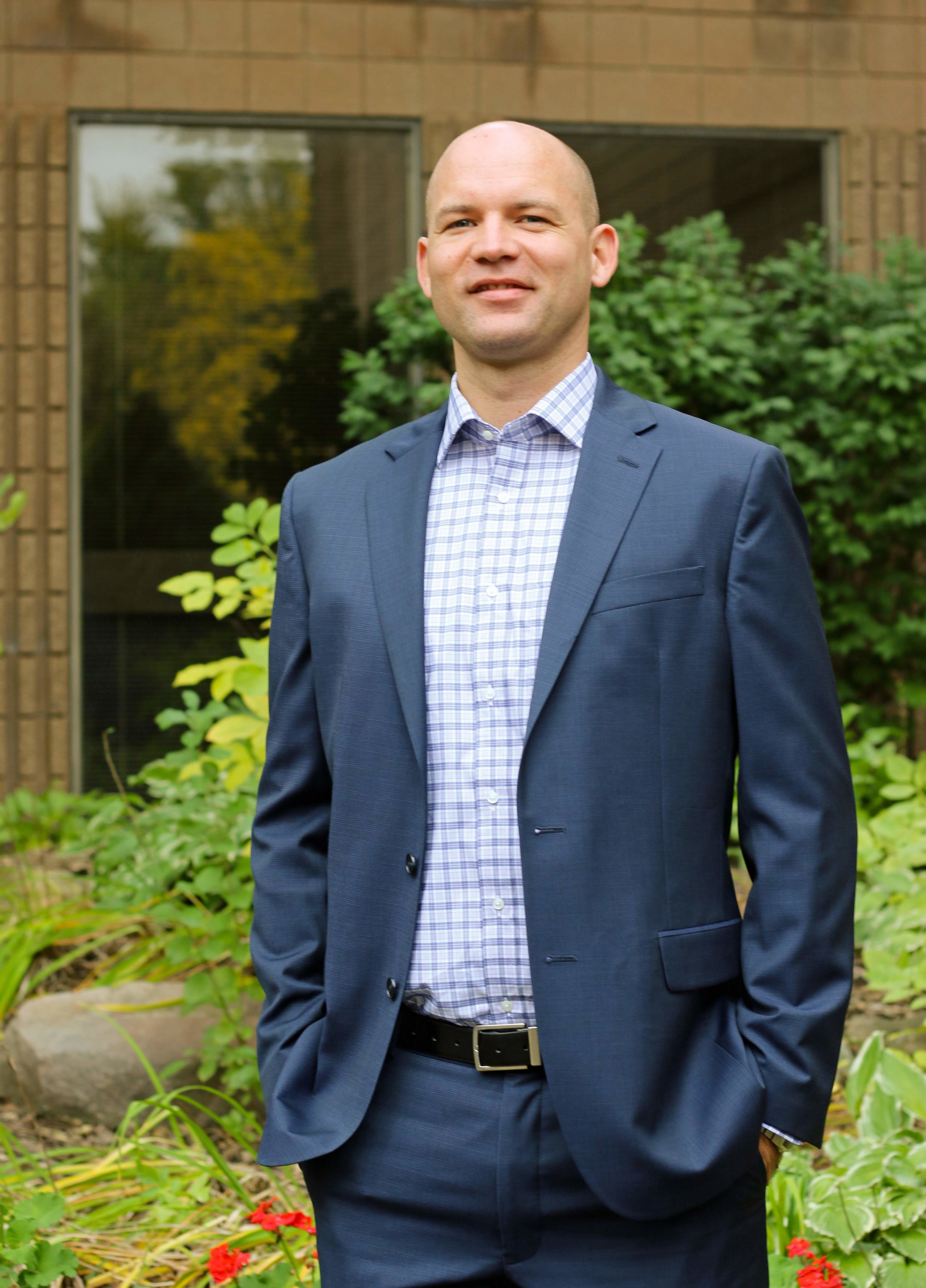 "Nick Van Beek - Lead PastorPastor Nick affirms, ""I will boast all the more gladly about my weaknesses, so that Christ's power may rest on me,"" from 2 Corinthians 12:9. He believes the first step of following Jesus is admitting our failures. This begins a life committed to Christ and to his justice, peace, and reconciliation he brings to this world. Pastor Nick received his Bachelors of Science from Reformed Bible College and his Masters of Divinity from Calvin Theological Seminary. He is happily married to his wife, Carrie, and loves hanging out with his 2 daughters, Madelyn and Lillian. Pastor Nick enjoys reading, yard work, and biking all over Minnesota.pastornick@calvarycrc.net952-831-6264"