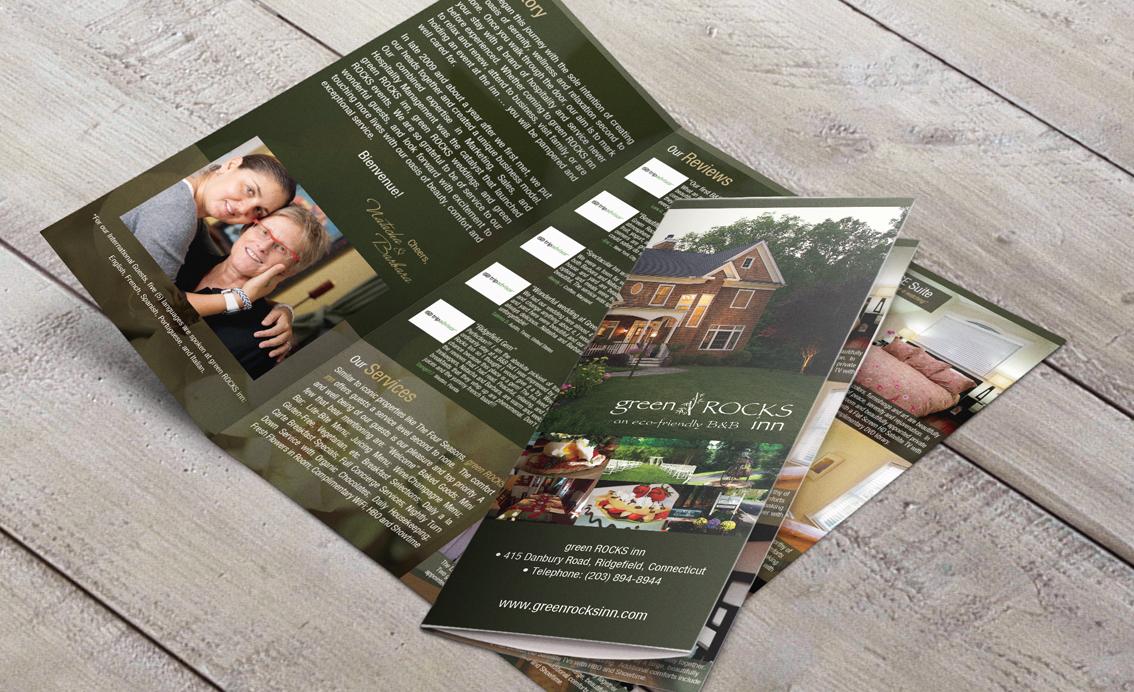Brochure Design - Green Rocks Inn