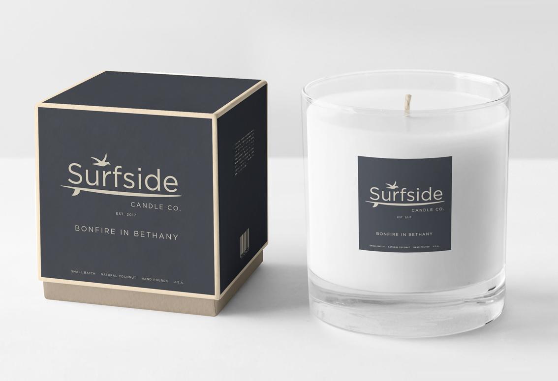 Label Design - Surfside Candle Co.