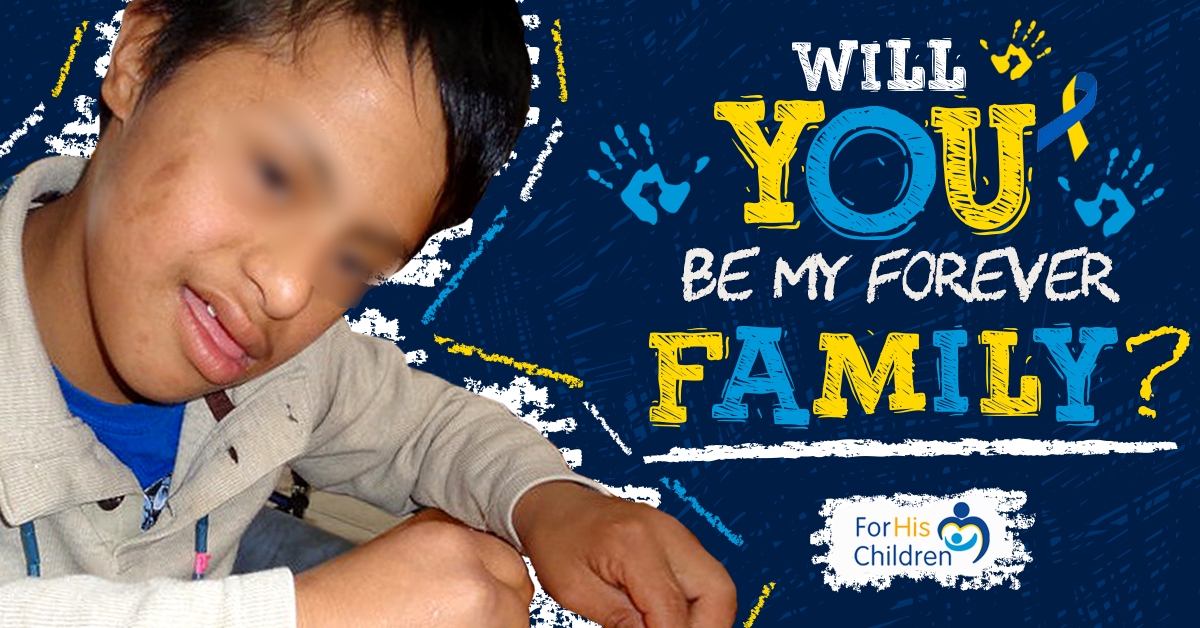 Banner Design- For His Children/ Hogar Para Sus Ninos