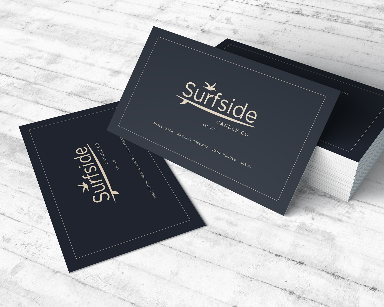 Business Card Design - Surfside Candle Co.