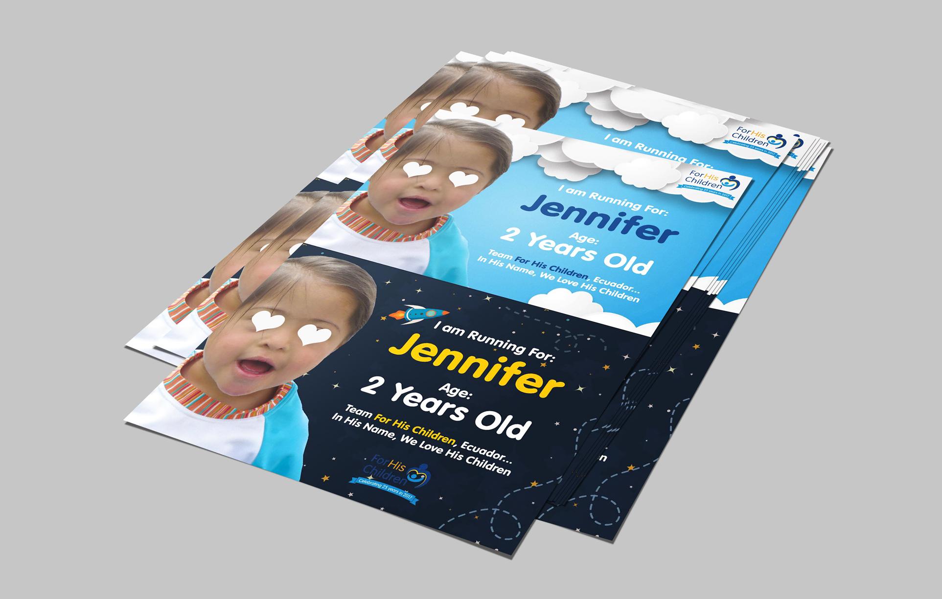 Flyer Design - For His Children/Hogar Para Sus Niños