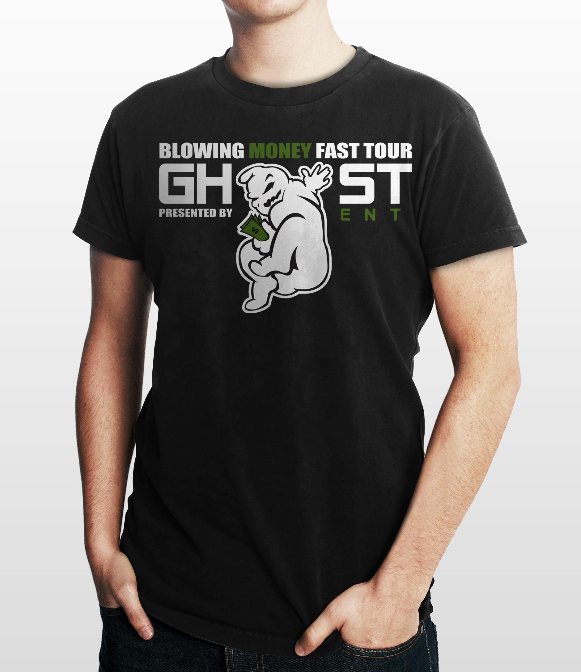 GHOST ENT - T-shirt Design