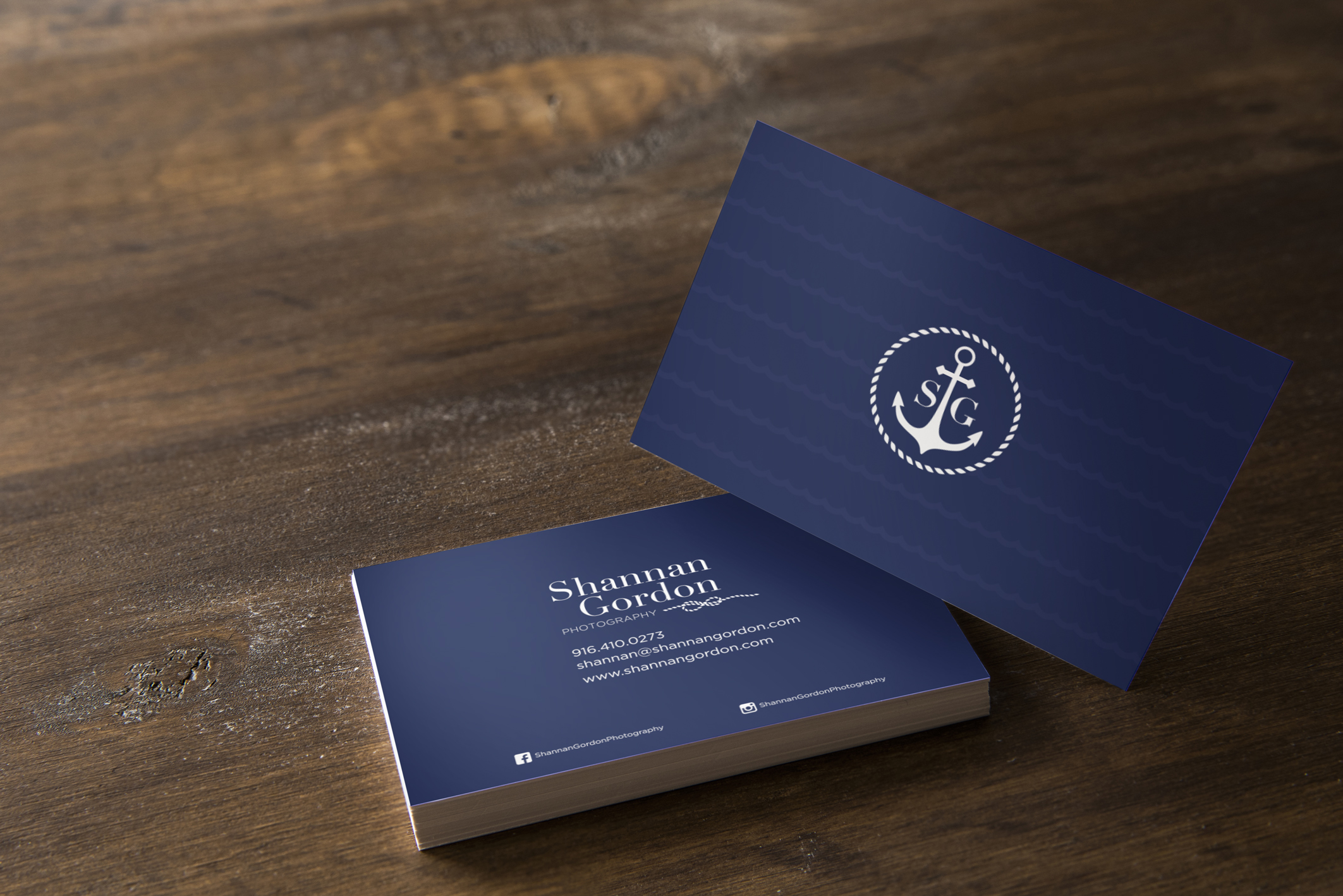 Business Card Design -Shannan Gordon Photography