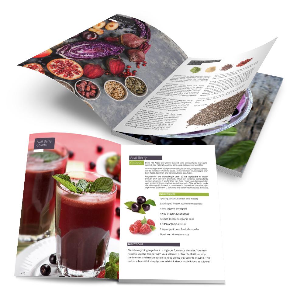 Recipe Book - New Horizon/Longevity Warehouse