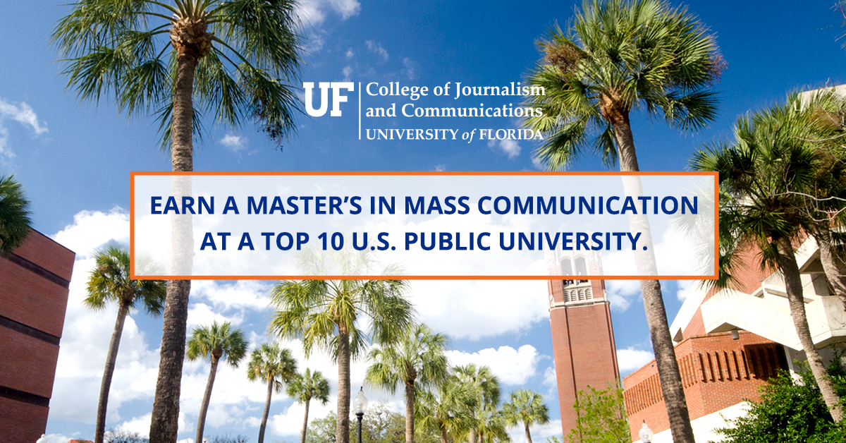 University of Florida- College of Journalism and Communications - Ad design