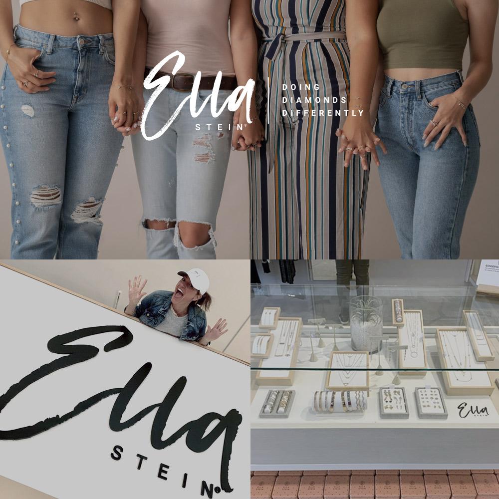 Ella Stein - Jewelry Logo Design