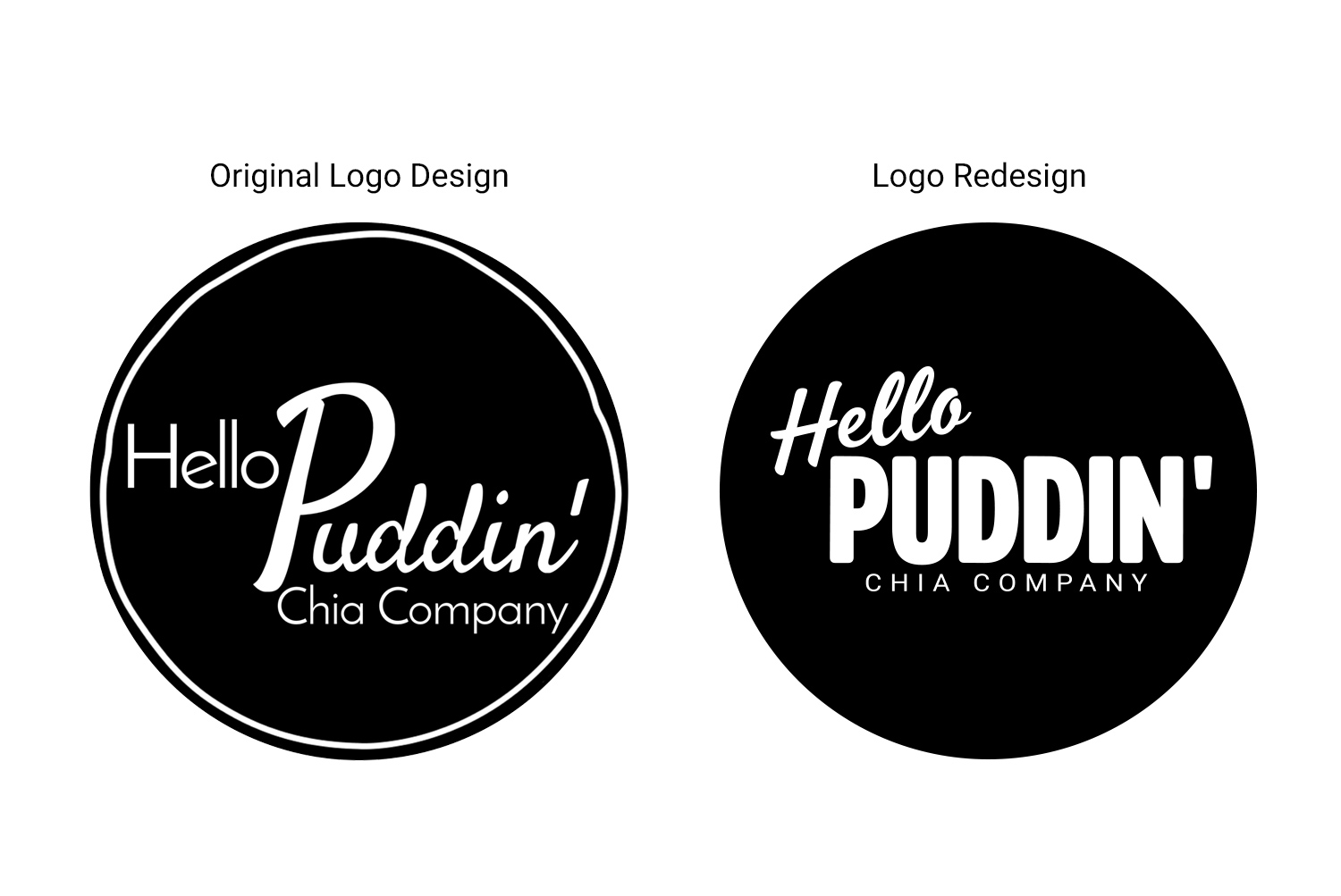 I was asked to redesign my client's logo. The logo was based on one she created.