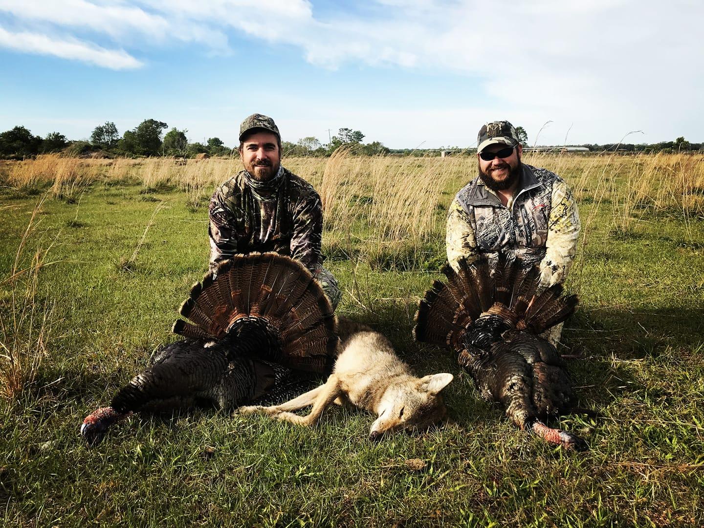Pro Staffer Mark Maggard (left) - March, 2018  Florida, Shotgun