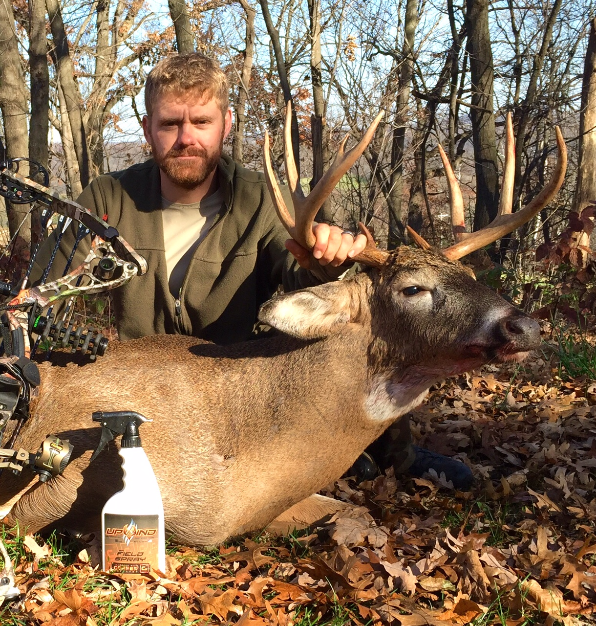 Field Staffer Will Sandberg - November, 2016  Wisconsin, Bow